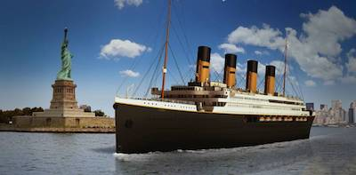 Clive Palmer's Titanic II pitch fails to wet the sails…
