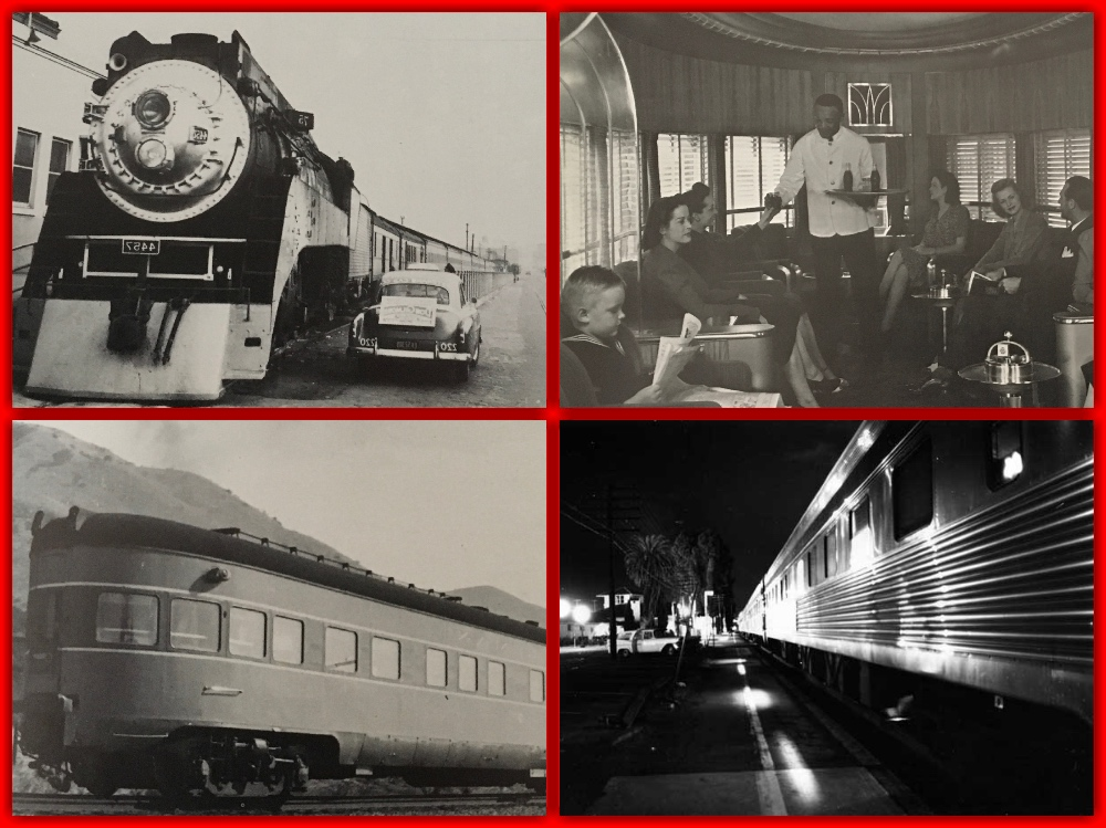 Southern Pacific, Lark, the Lark, all-Pullman, train, sleeper. pullman company, pullman porters, sleeping cars, pullman sleepers, los angeles, san francisco, oakland, 1950s, 1940s, streamliner, overnight trains, cruise the past, michael l grace, cruising the past, travel the now