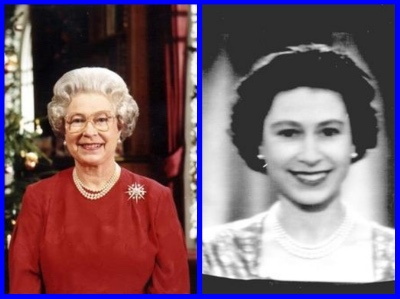 2018 QUEEN ELIZABETH'S CHRISTMAS speech and the 1957 first televised speech.