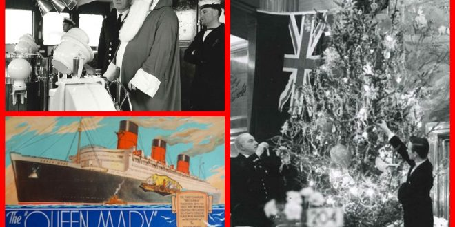 Christmas on the Cunard Line in the 1920s and 1930s.
