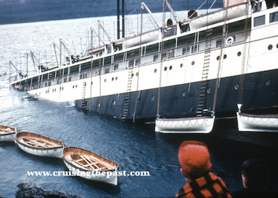 Alaska Cruise Sinks – The 1952 wreck of the SS Princess Kathleen