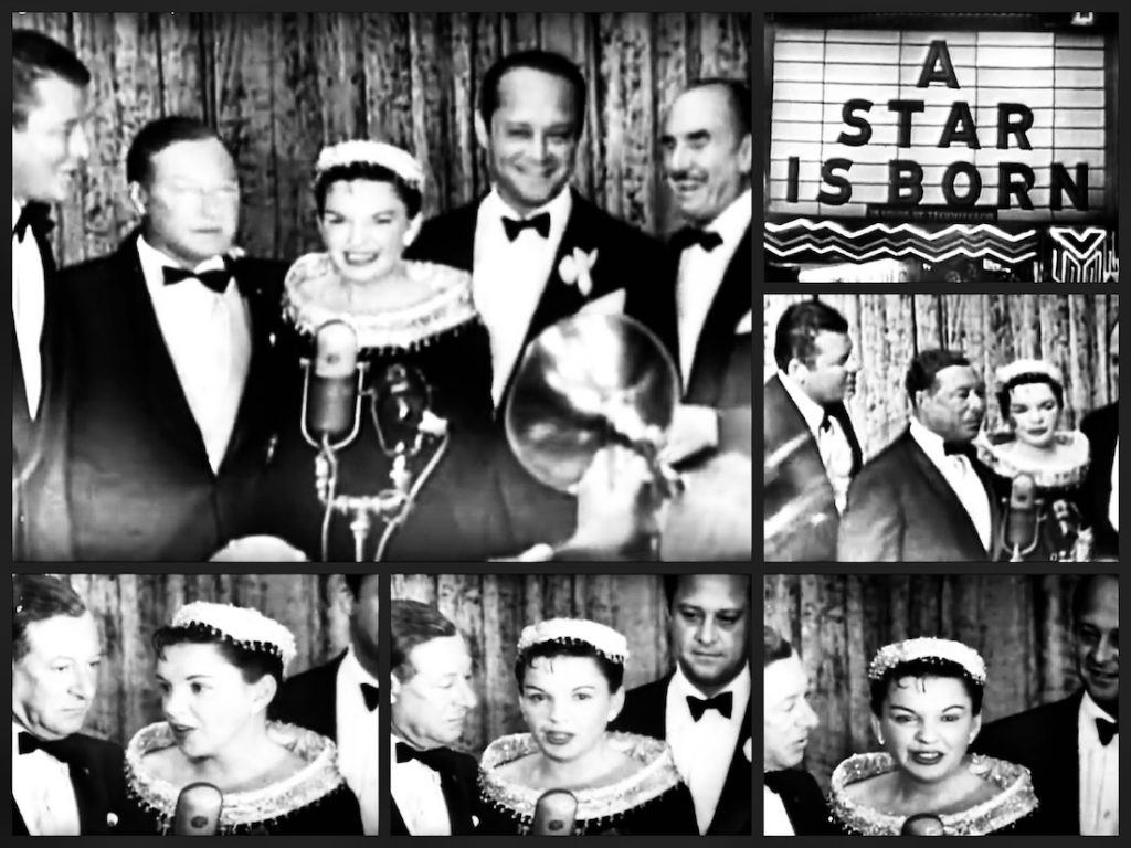 A star is born, premiere, Pantages Theatre, Hollywood, 1054, Judy Garland, James Mason, Cruising the past, travel and society