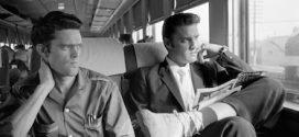 On the threshold of fame, ELVIS PRESLEY took the train from New York to Memphis in 1956.