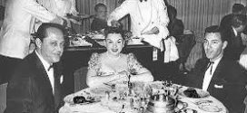 JUDY GARLAND aboard the SS UNITED STATES sailing from New York to Europe.