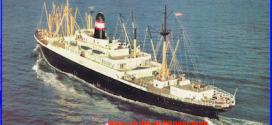 """The popular """"4 Aces"""" elegant liners sailed in luxury to the Mediterranean."""