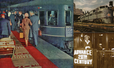 New York's 20th CENTURY LIMITED – the greatest train in the world!