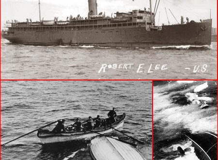 Coastal Liner SS ROBERT E. LEE sunk by a Nazi Submarine in 1942.