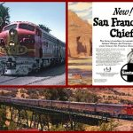 Santa Fe, Pullman, Chief, Super Chief, El Capitan, Union Pacific, Southern Pacific, City of San Francisco, Lark, Starlight, Shasta Daylight, San Joaquin Daylight, Streamliner, Hi-Level, Dome Cars, Chair Cars, Amtrak, Michael L Grace, Cruising The Past, Cruise Line History