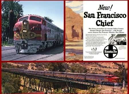 Santa Fe's Streamliner SAN FRANCISCO CHIEF