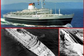 The SS Andrea Doria never reached New York on her Final Voyage