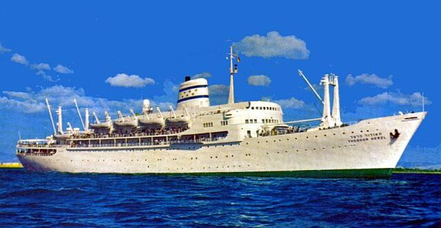 ZIM LINE – Israel's Passenger and Cruise company in the 1950s and 1960s