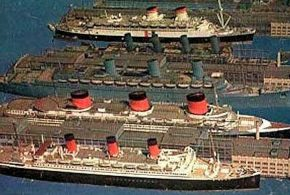 Cruise the Past: Cunard Line's RMS AQUITANIA had a very long run from New York to Europe!