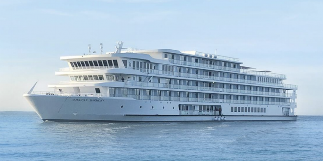 Travel the Now: AMERICAN HARMONY is USA's new modern RIVERBOAT.