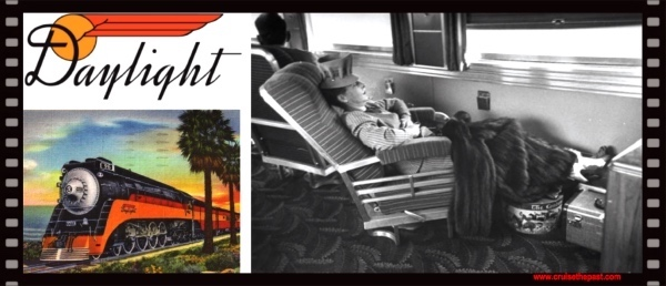 Travel the Past: The Coast Daylight – California's most beautiful train in the world.