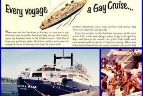 FIRST GAY CRUISE – 37 YEARS AGO