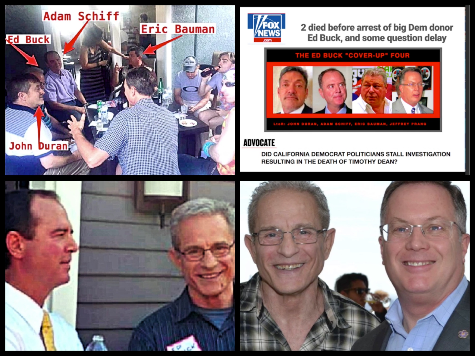 Image result for schiff and ed buck/