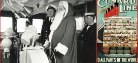 Celebrating Christmas Onboard the Cunard Line