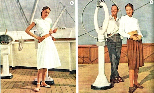 Design for a Cruise Wardrobe in 1947