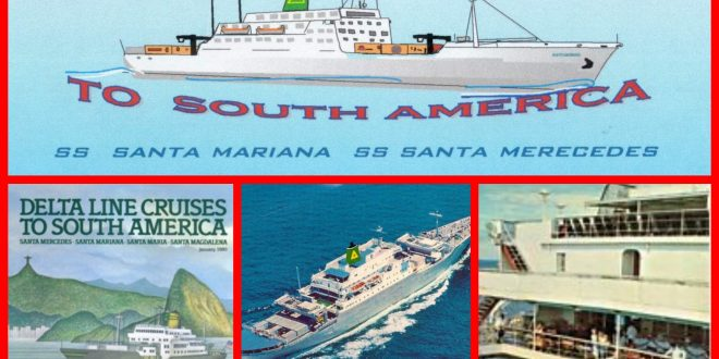 Sail again aboard the Delta Line ships around South America in this great video.