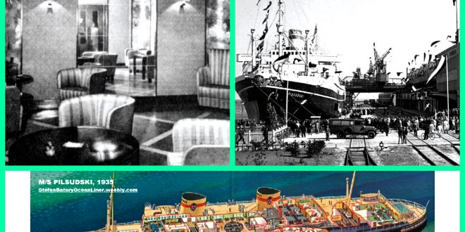 Part 2: MS PILSUDSKI and MS BATORY – Poland's beautiful trans-Atlantic Liners!