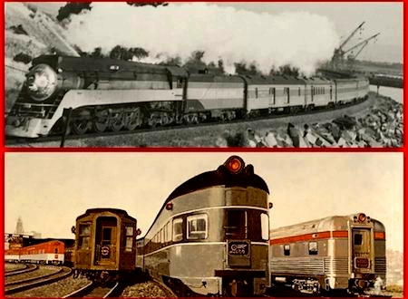 California's famous all-Pullman SP streamliner LARK served San Francisco and Los Angeles via the Coast Route