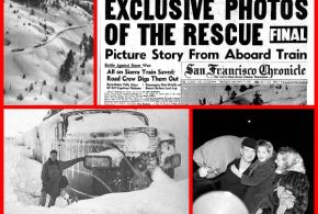 City Of San Francisco – 1952 Blizzard Traps SP Streamliner in Donner's Pass – Part 1