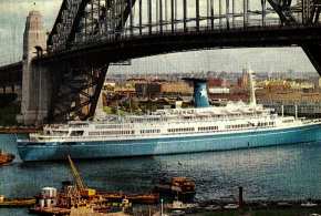 The MS Angelina Lauro – Fire at Sea – Classic Liner and Cruise Ship