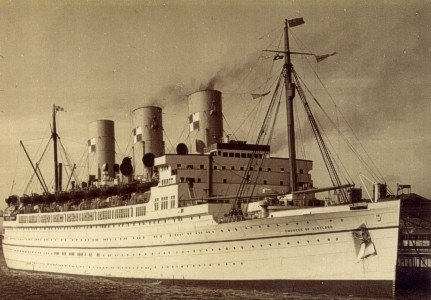 Canadian Pacific's RMS EMPRESS OF JAPAN