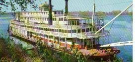 1940s Onboard The Steamboat GORDON C. GREENE!