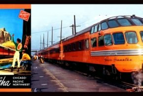 Milwaukee Road's Beautiful Mid-Century Streamliner OLYMPIAN HIAWATHA