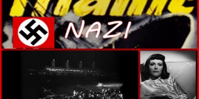 James Cameron Stole Ideas From 1943 Nazi TITANIC Film For His Own Blockbuster Version!
