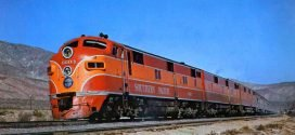 1950s – Golden Age of TRAIN TRAVEL in the USA