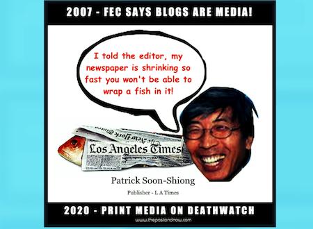 FEC SAYS BLOGS ARE MEDIA – Mary Bono, Michael Grace & The Daily Kos