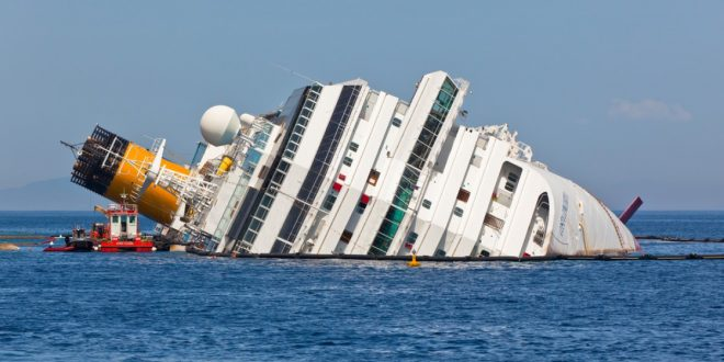 CRUISE INDUSTRY is sinking fast!