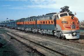 Silver Streamliner CALIFORNIA ZEPHYR Served mid-Century America.