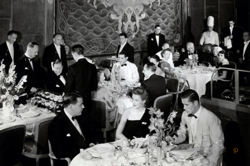 When CAVIAR was KING on First Class ocean liners and cruise ships.