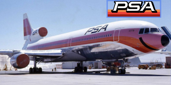 California's PSA Pacific Southwest Airlines – Was the only way to fly for over 40 years!