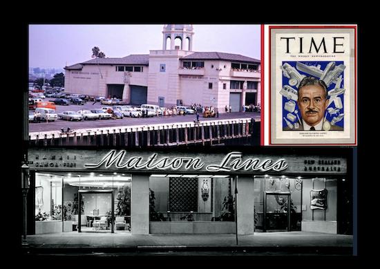 RAYMOND LOWEY'S Mid-Century Designs for Los Angeles MATSON LINE'S Lurline Booking Office