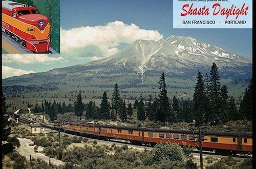 The Streamliner SHASTA DAYLIGHT – San Francisco to Portland