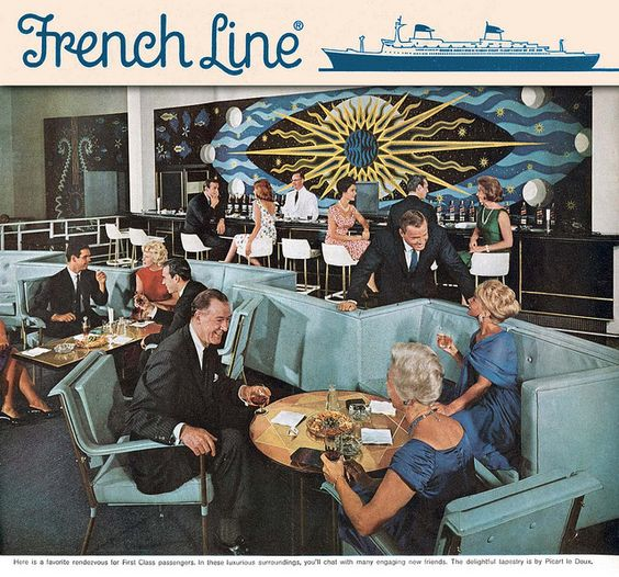 FRENCH LINE, SS FRANCE