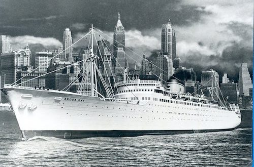THE AROSA STEAMSHIP LINE – Immigrants and Students – EUROPE TO CANADA & USA – 1952-1958