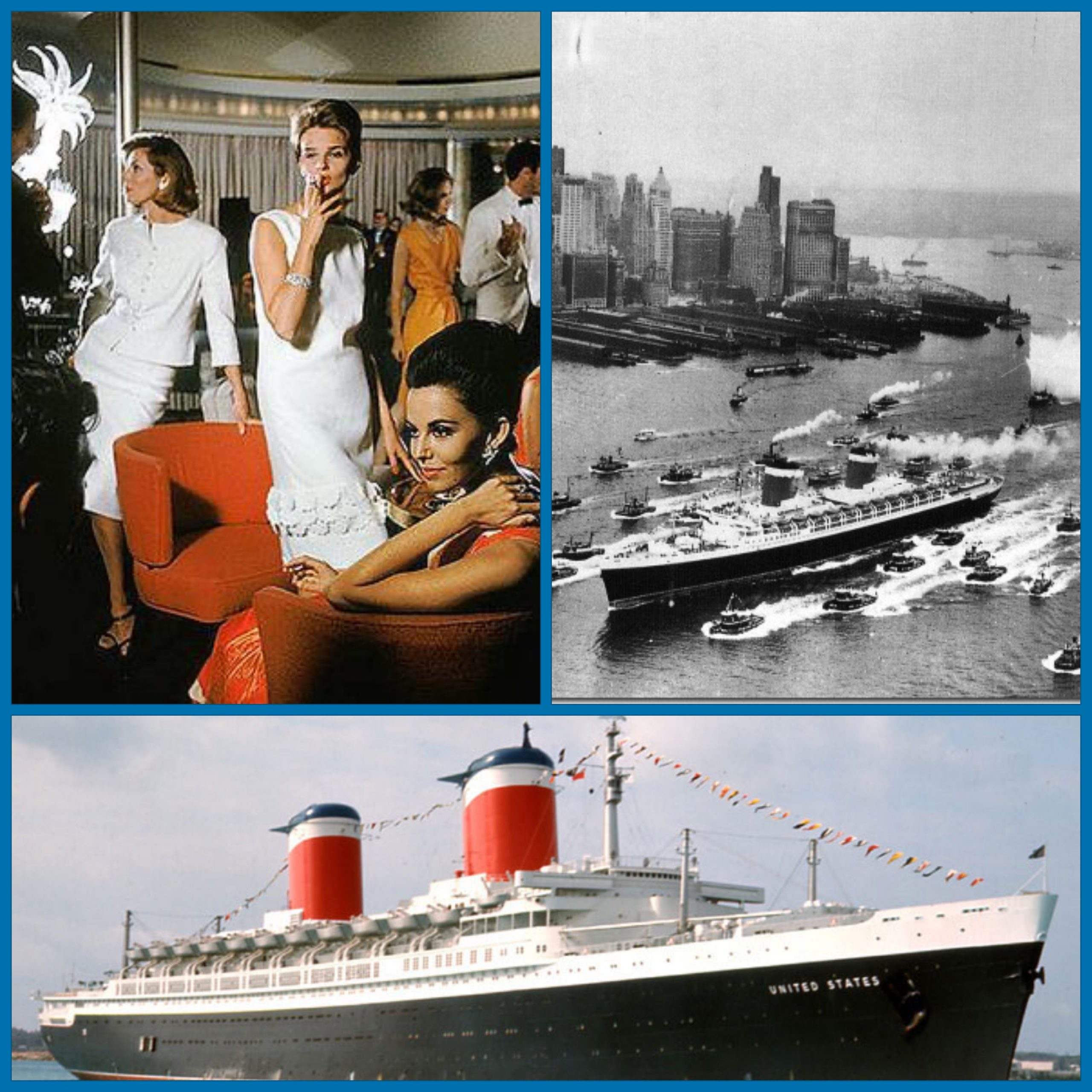 SS UNITED STATES, 1950S