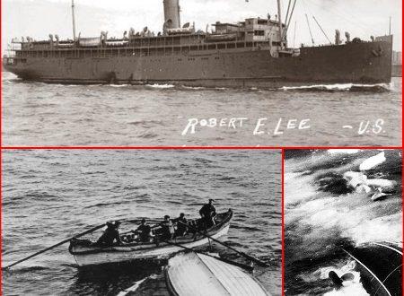 NAZI SUBMARINE sinks Coastal Liner SS ROBERT E. LEE in 1942