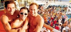 FIRST GAY CRUISE sailed in 1987 aboard the SS BERMUDA STAR