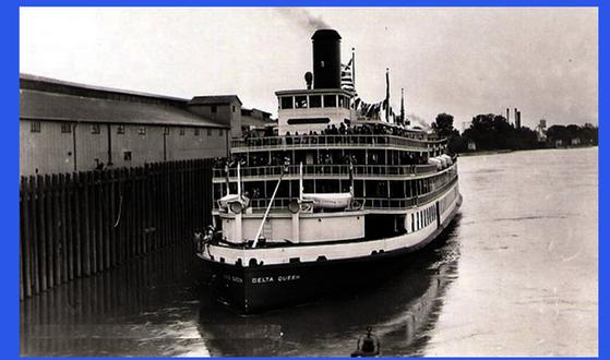 DELTA QUEEN & DELTA KING Overnight Riverboats between San Francisco and Sacramento