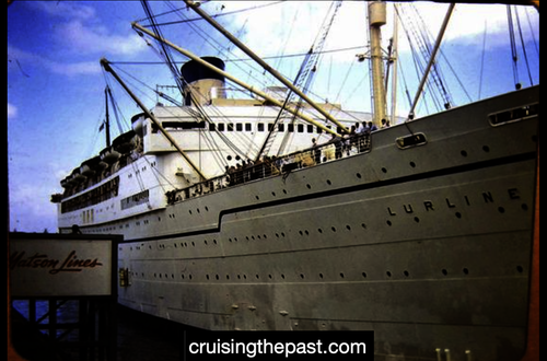 MID-CENTURY 1950s and 1960s Travel by CRUISE SHIPS and PASSENGER LINERS