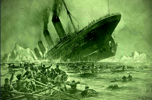 The RMS TITANIC SANK 109 Years Ago Today!