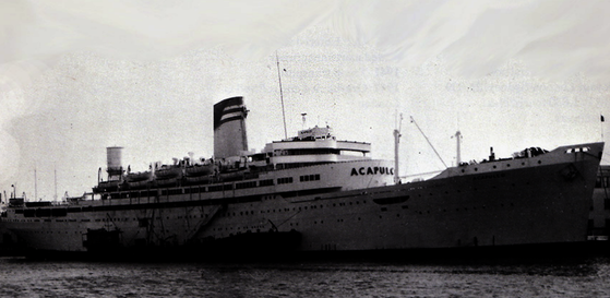 SS ACAPULCO – Mexico's CRUISE SHIP sailing from California to Mexico in the early 1960s!