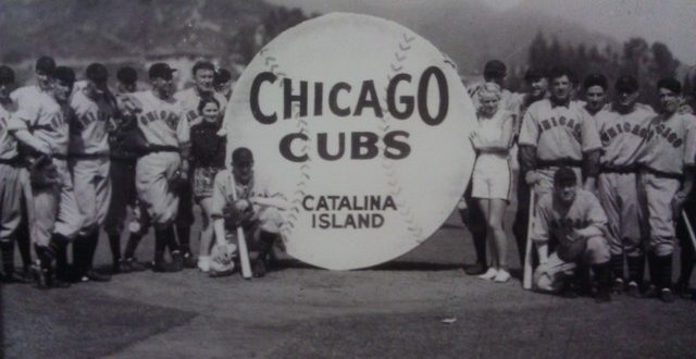 Chicago Cubs Lands On Catalina Island