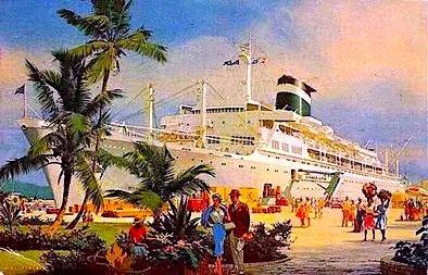 Grace Line – American Flag Passenger Ships – 1882 to 1969 – Part 1